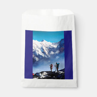 Panoramic View Of Ama Dablam Peak Everest Mountain Favour Bag