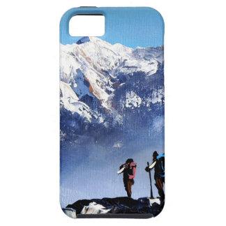 Panoramic View Of Ama Dablam Peak Everest Mountain Tough iPhone 5 Case