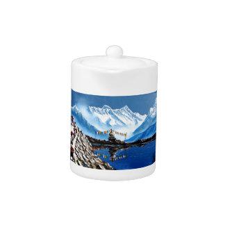 Panoramic View Of Annapurna Mountain Nepal