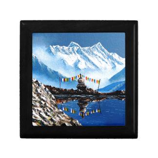 Panoramic View Of Annapurna Mountain Nepal Gift Box