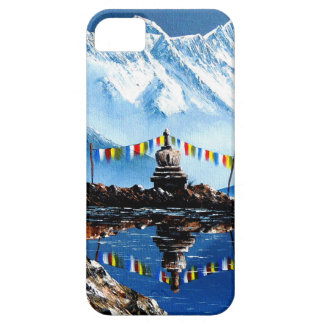 Panoramic View Of Annapurna Mountain Nepal iPhone 5 Cases