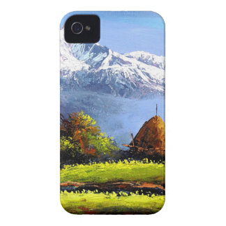 Panoramic View Of Beautiful Everest Mountain iPhone 4 Case-Mate Case
