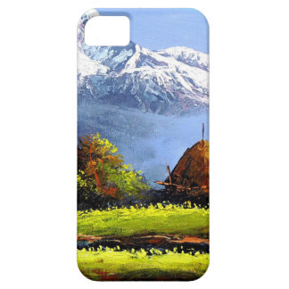 Panoramic View Of Beautiful Everest Mountain iPhone 5 Covers