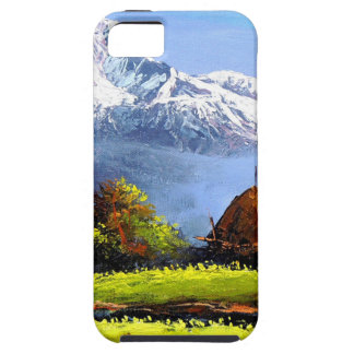 Panoramic View Of Beautiful Everest Mountain Tough iPhone 5 Case
