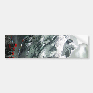 Panoramic View Of Everest Base Camp Bumper Sticker