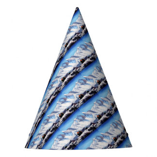 Panoramic View Of Everest Mountain Base Camp Area Party Hat