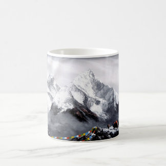 Panoramic View Of Everest Mountain Coffee Mug