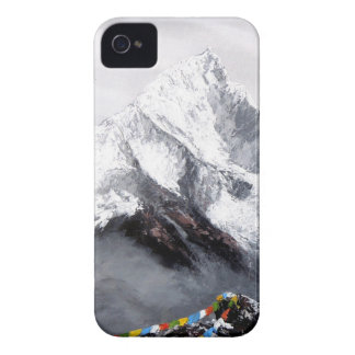 Panoramic View Of Everest Mountain iPhone 4 Case