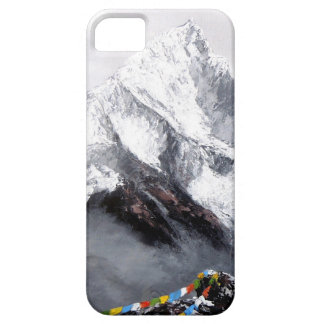 Panoramic View Of Everest Mountain iPhone 5 Case