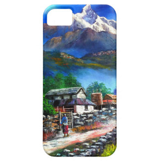 Panoramic View Of Everest Mountain Nepal Case For The iPhone 5