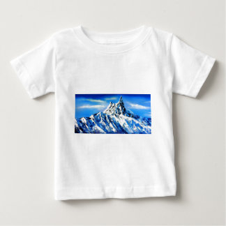 Panoramic View Of Everest Mountain Peak Baby T-Shirt
