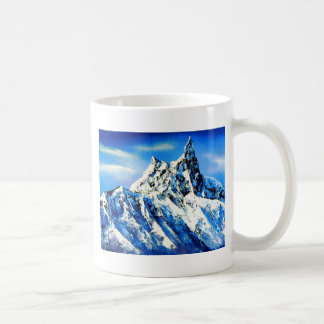 Panoramic View Of Everest Mountain Peak Coffee Mug