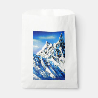 Panoramic View Of Everest Mountain Peak Favour Bag