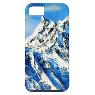 Panoramic View Of Everest Mountain Peak iPhone 5 Cases