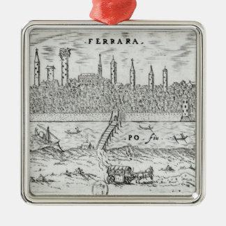 Panoramic view of Ferrara Metal Ornament