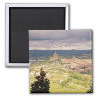Panoramic view of Le-Puy-en-Velay Magnet