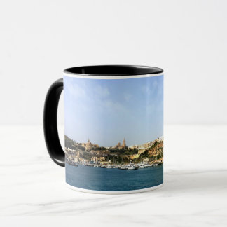 Panoramic view of Mgarr, town, Gozo Mug