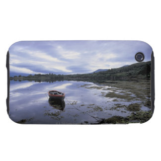 panoramic view of mountains and lake 3 iPhone 3 tough cover