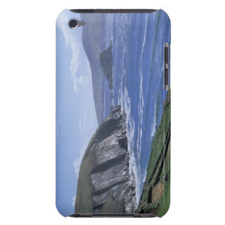 panoramic view of ocean waves crashing on a barely there iPod case