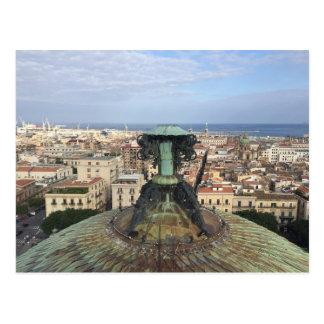 Panoramic view of Palermo Postcard