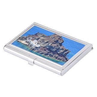 Panoramic view of Santorini Business Card Holder