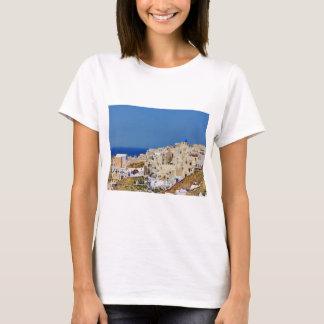 Panoramic view of Santorini T-Shirt