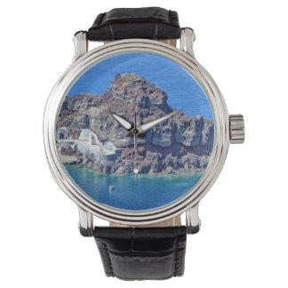 Panoramic view of Santorini Watch