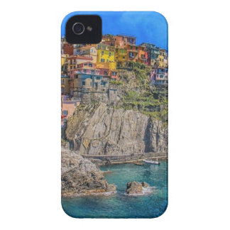 Panoramic View of Sea Against Blue Sky iPhone 4 Cover
