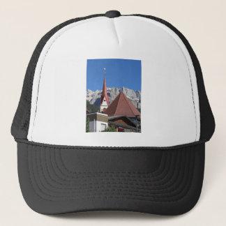 Panoramic view of Selva di Val Gardena Trucker Hat