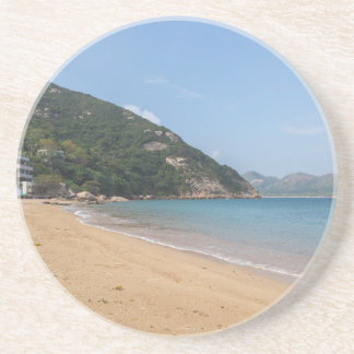 Panoramic view of Sok Kwu Wan Lamma Island Drink Coaster