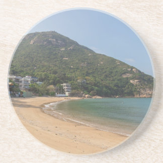 Panoramic view of Sok Kwu Wan Lamma Island Sandstone Coaster