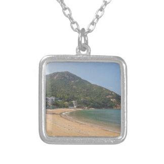 Panoramic view of Sok Kwu Wan Lamma Island Silver Plated Necklace