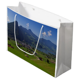 Panoramic view of Spiez Large Gift Bag