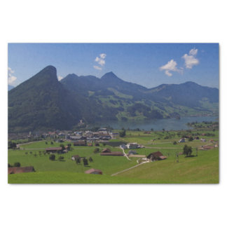 Panoramic view of Spiez Tissue Paper
