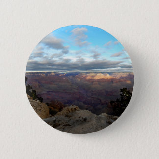 Panoramic view of the Grand Canyon 6 Cm Round Badge