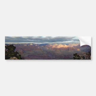 Panoramic view of the Grand Canyon Bumper Sticker