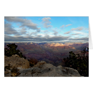 Panoramic view of the Grand Canyon Card