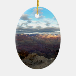 Panoramic view of the Grand Canyon Ceramic Ornament