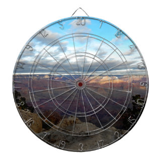 Panoramic view of the Grand Canyon Dartboard