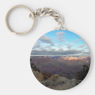Panoramic view of the Grand Canyon Key Ring