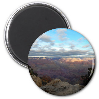 Panoramic view of the Grand Canyon Magnet