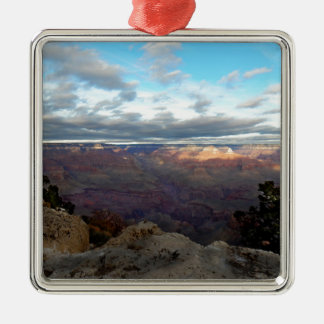 Panoramic view of the Grand Canyon Metal Ornament