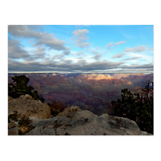 Panoramic view of the Grand Canyon Postcard