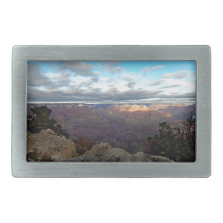 Panoramic view of the Grand Canyon Rectangular Belt Buckle