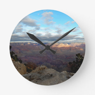 Panoramic view of the Grand Canyon Round Clock