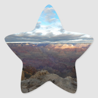 Panoramic view of the Grand Canyon Star Sticker