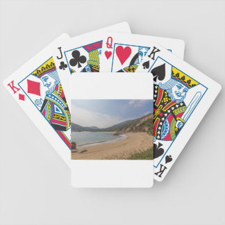 Panoramic view of Tung O Village Lamma Island Bicycle Playing Cards