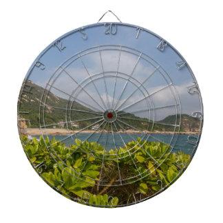 Panoramic view of Tung O Village Lamma Island Dartboard