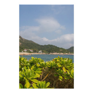 Panoramic view of Tung O Village Lamma Island Stationery