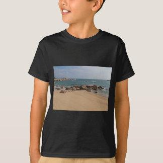 Panoramic view of Tung O Village Lamma Island T-Shirt